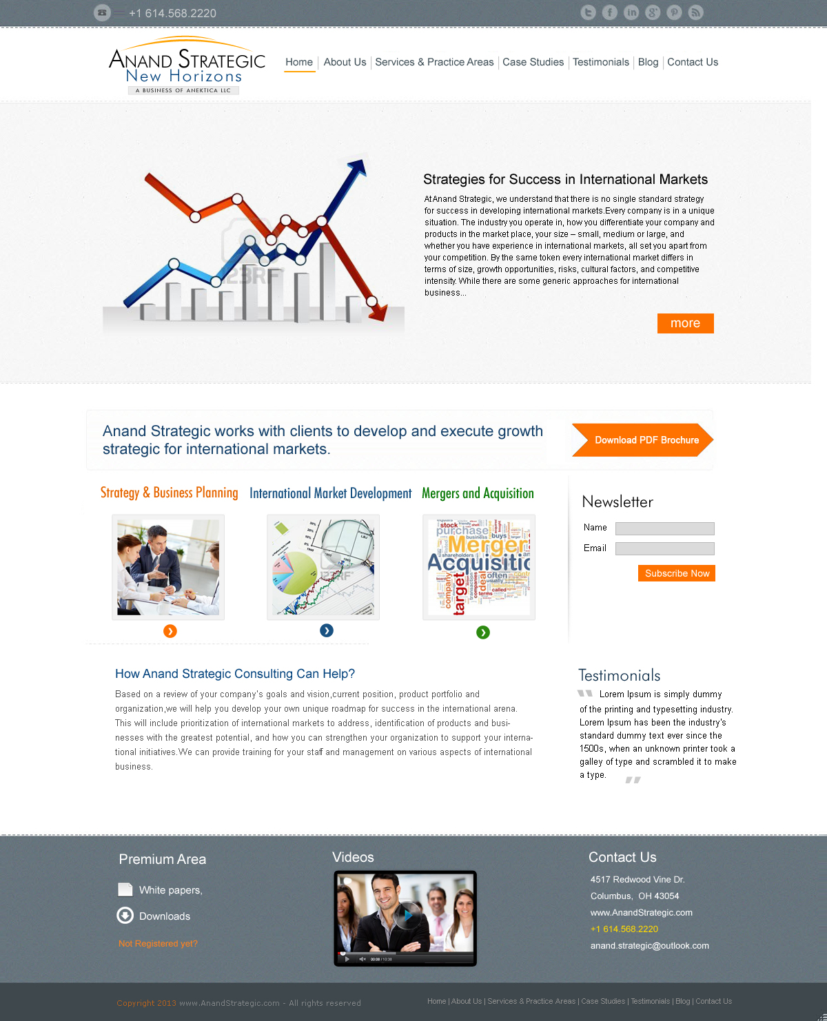 Websites simple web inc for Consulting website